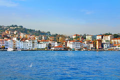 Istanbul Coast, European side Stock Photo