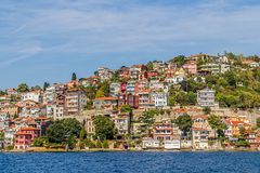 Istanbul coastal Sariyer Stock Photo
