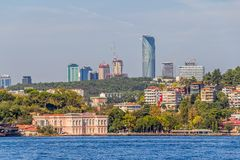 Istanbul coastal Royalty Free Stock Photography
