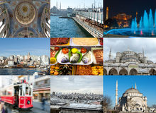 Istanbul collage Royalty Free Stock Photo
