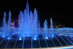 Istanbul - Colorful fountain stock photography