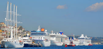 Istanbul Cruise Port. Royalty Free Stock Images