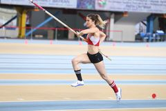 Istanbul Cup Indoor Athletics Stock Images