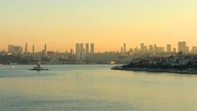 Istanbul at dawn stock video