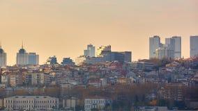 Istanbul die Hauptstadt von der Türkei, östliche touristische Stadt Stockbild