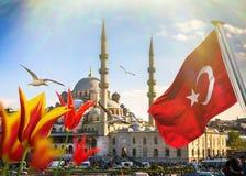 Istanbul die Hauptstadt von der Türkei Stockfotografie