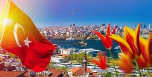Istanbul die Hauptstadt von der Türkei Lizenzfreies Stockbild