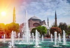 Istanbul die Hauptstadt von der Türkei Stockfotos