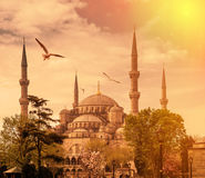Istanbul die Hauptstadt von der Türkei Lizenzfreies Stockfoto