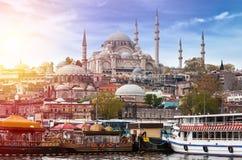 Istanbul die Hauptstadt von der Türkei Stockbilder