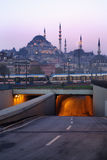 Istanbul die Türkei stockfotografie