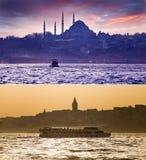 Istanbul, die Türkei Stockbild