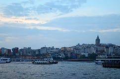Istanbul, die Türkei - 10. Mai 2018: Istanbul-Stadtskyline in der Türkei lizenzfreie stockbilder