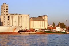 Istanbul Docks Royalty Free Stock Image