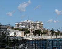 Istanbul Dolmabahce Palace Royalty Free Stock Photo