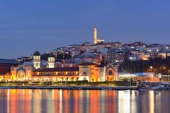 Istanbul at dusk Royalty Free Stock Photo