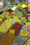 Istanbul egyptian spice market Stock Photos