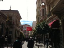 Istanbul en avril 2014 Image stock