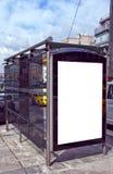 istanbul för 01 buss stopp Royaltyfri Fotografi