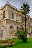 Istanbul - Facade View of Dolmabahce Palace Stock Photography