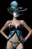 Istanbul fashion week lingerie Stock Image