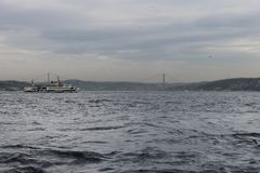 Istanbul - Fatih Sultan Mhmet Bridge images libres de droits