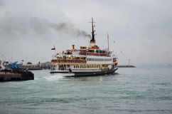 Istanbul Ferries Royalty Free Stock Image