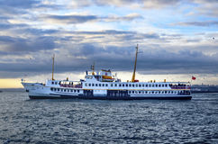 Istanbul Ferries Royalty Free Stock Photo