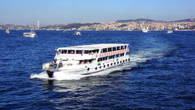 Istanbul Ferry Royalty Free Stock Photos