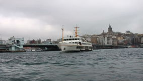 Istanbul ferry stock video