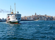 Istanbul ferry Royalty Free Stock Photography