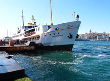 Istanbul ferry stock image