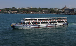 Istanbul Ferry Stock Photography