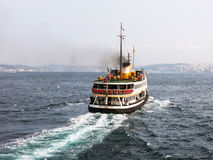 Istanbul ferryboat Stock Photography