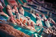 Istanbul fish market Royalty Free Stock Photography