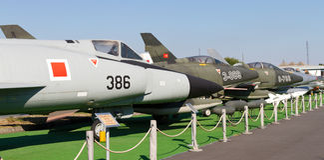 Istanbul flygmuseum Royaltyfria Bilder