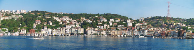 Istanbul från fartyget turnerar Royaltyfria Foton