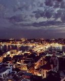 Башня galata Стамбула стоковые фотографии rf