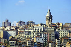 Istanbul Galata Royalty Free Stock Images