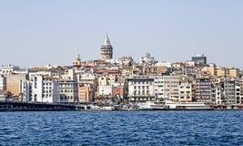 Istanbul, Galata-Bezirk Die Türkei Lizenzfreies Stockbild