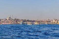 Istanbul Galata bridge Royalty Free Stock Photography
