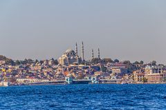 Istanbul Galata bridge Stock Photography
