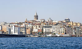 Istanbul, Galata District. Turkey Royalty Free Stock Image