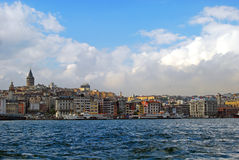 Istanbul - Galata neighborhood Stock Photo