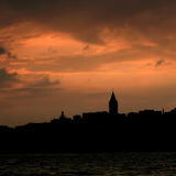 Istanbul Galata Tower royalty free stock photo