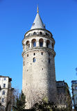 Istanbul Galata Tower Royalty Free Stock Photography