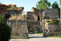 Istanbul Gate of Iznik Royalty Free Stock Photography