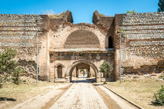 Istanbul Gate of Nicea Ancient City, Iznik Stock Images