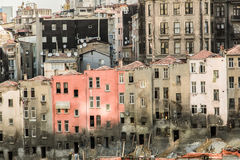 istanbul gator Arkivbild