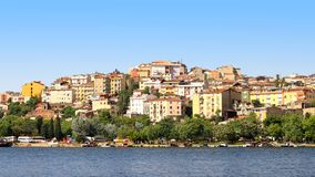 Istanbul, Golden Horn Royalty Free Stock Photo